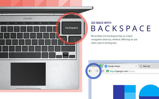Go Back With Backspace.