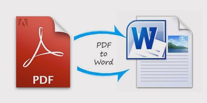 конвертировать pdf в word