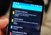 очистка памяти смартфона