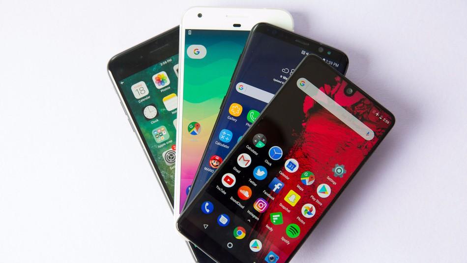 флагманские смартфоны 2018