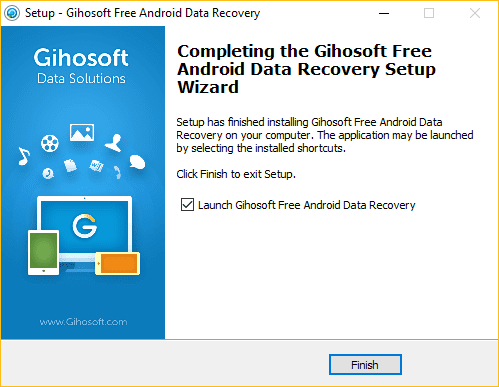 Gihosoft Free iPhone Recovery для глубокого восстановления