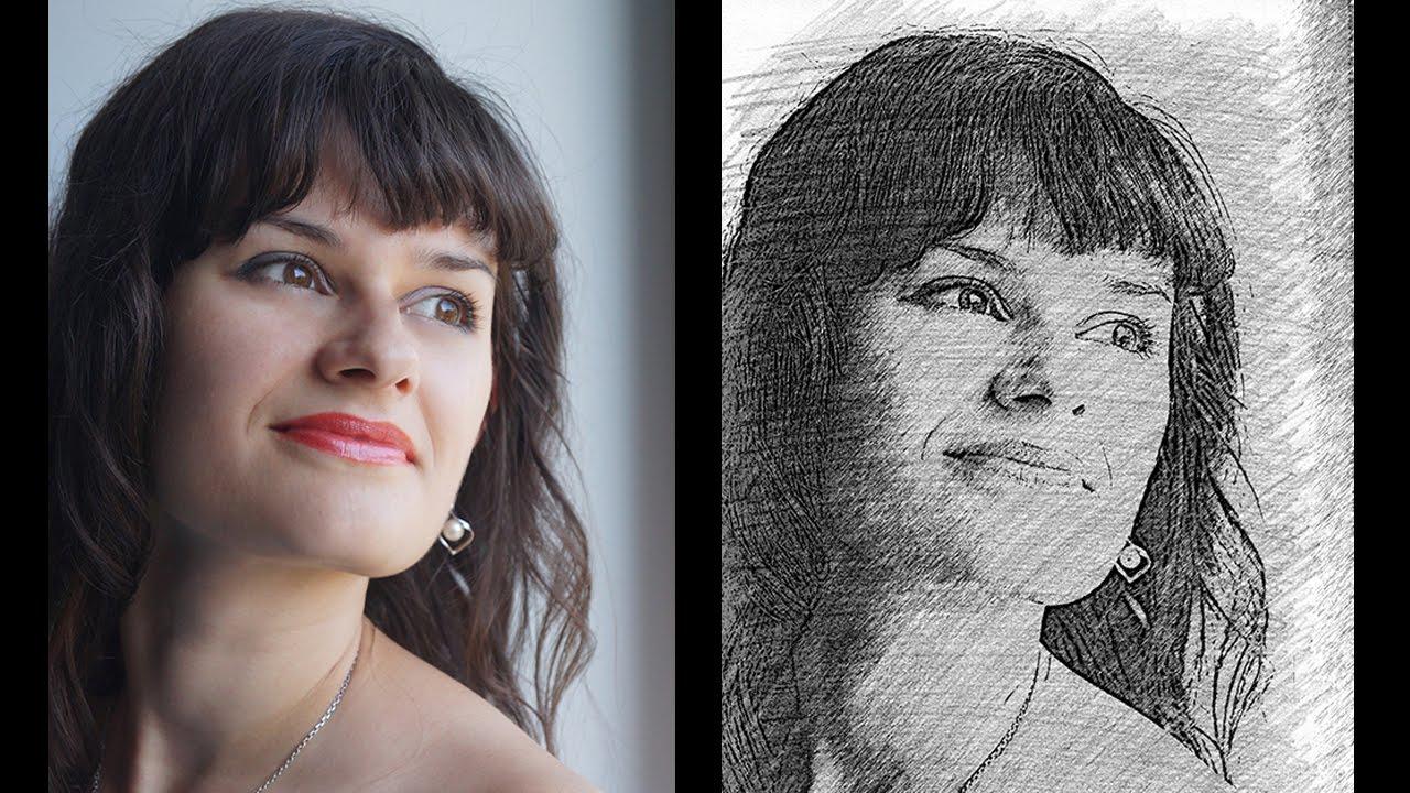 кадони перевод фотографии в рисунок карандашом краски